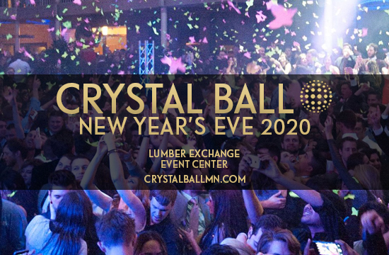 Crystal ball MN NYE 2020 Party in Minneapolis
